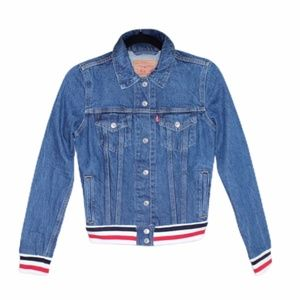 Levi's Women's Original Rib Trim Trucker Jackets
